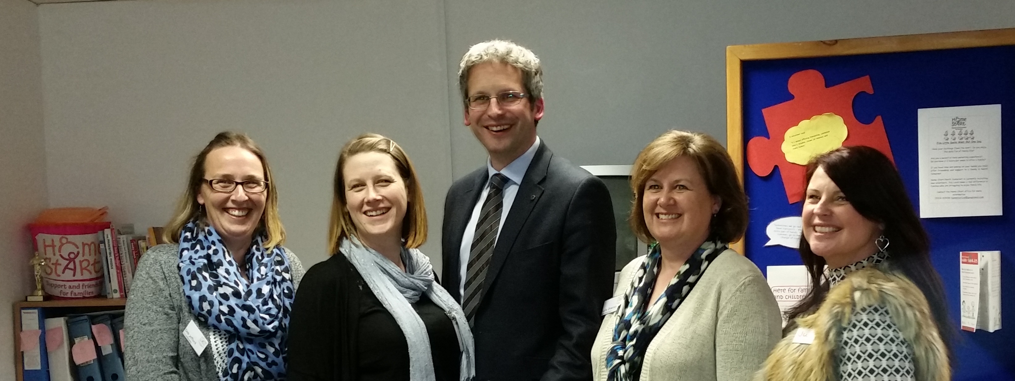 Rob Parkinson and HSNS Staff