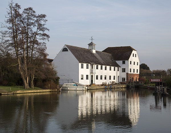 Hambleden Mill, by Mark Wingrove